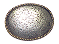 Western Engraved Oval Buckle