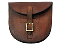 WWI Light Horse Officers Horseshoe Pouch