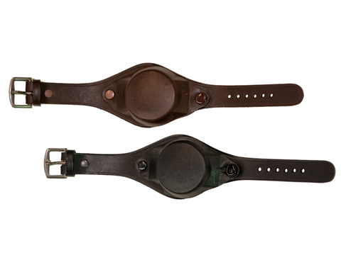 Covered Leather Watch Strap No1