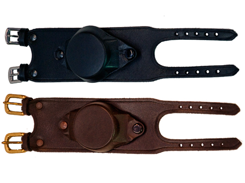 Covered Leather Watch Strap No2