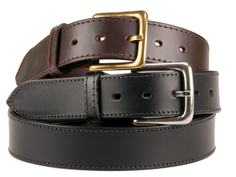 38mm Belt with Westend Buckle on Plain Leather