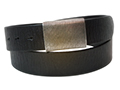 38mm Belt with Army Buckle on Distressed Leather