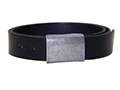 38mm Belt with Army Buckle on Plain Leather
