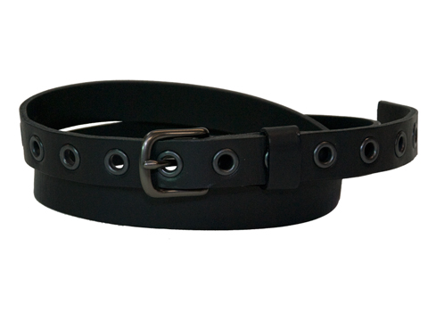 22mm Belt with 12 Eyelets and Westend Buckle and Leather Keeper